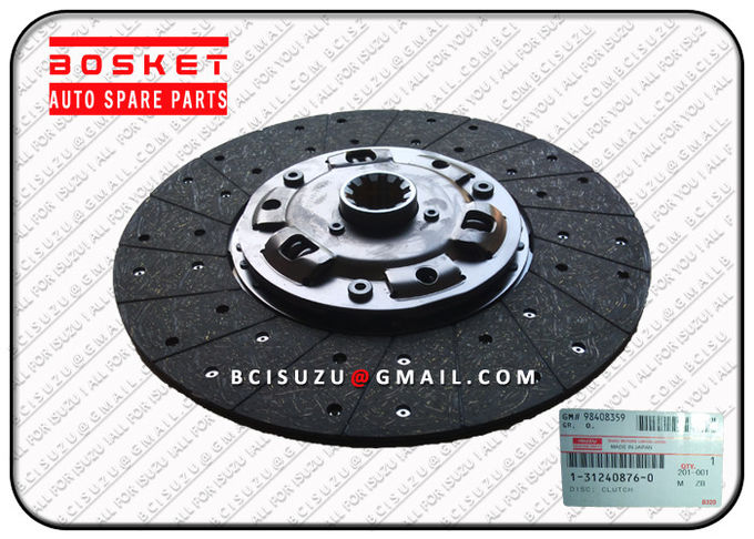 1-31240876-0 Isuzu Clutch Friction Disc / Plate For Cxz51k 6WF1 , Isuzu Car Parts