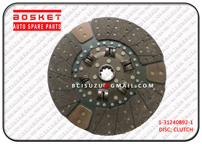 High Performance Iron Isuzu Clutch Disc For Cxz51k 6WF1 1312408921 1-31240892-1 3