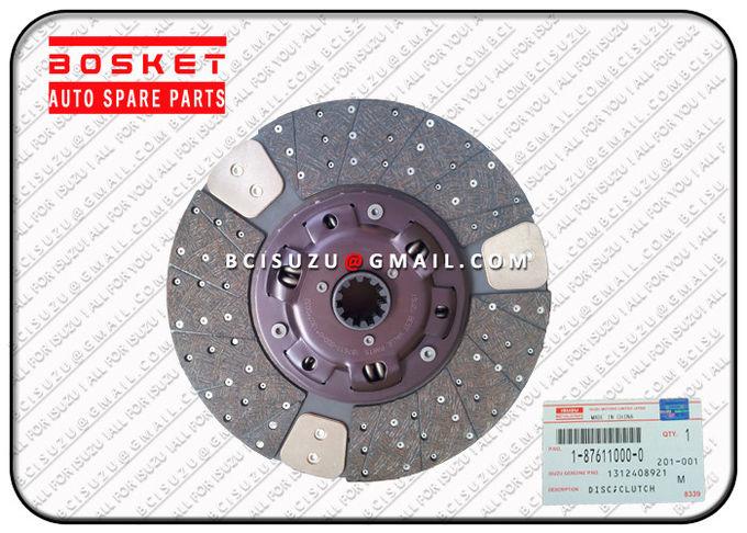 High Performance Iron Isuzu Clutch Disc For Cxz51k 6WF1 1312408921 1-31240892-1 0