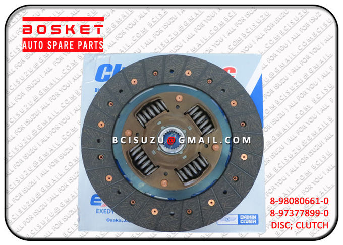 8-98080661-0 Vehicle Isuzu Clutch Disc For Nkr55 4JB1T 4JG2 4KH1 8980806610