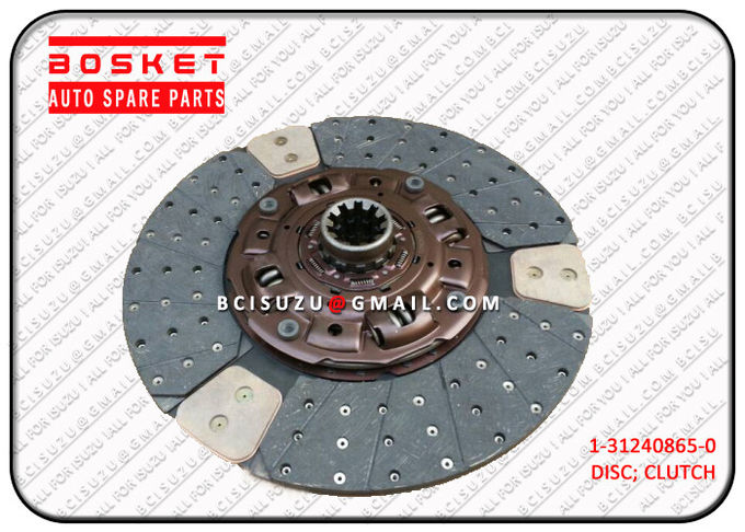 1-31240865-1 Auto Car Isuzu Clutch Disc For CXZ51K 6WF1 1312408651 1-87611002-0 0