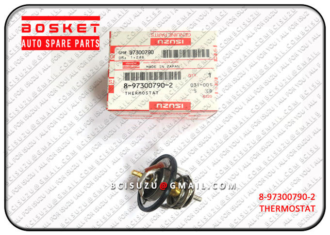 8-97300790-2 Isuzu NPR Parts Vehicle Thermostat 8973007902 , Net Weight 0.12kg