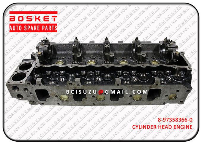 Iron Automotive Isuzu Cylinder Head Replacement Npr70 4HE1 8973583662 8-97358366-2