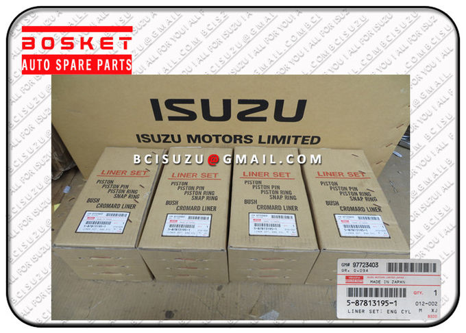 5-87813195-0 OEM Isuzu Liner Kit Set For Nkr55 4JB1 5878131950 5878131960